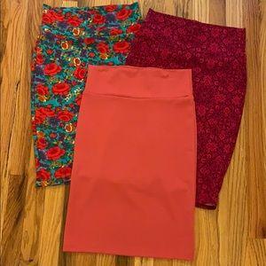 3 Like New Cassie skirts.